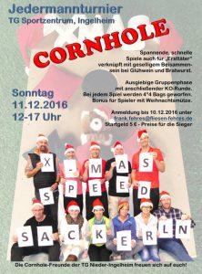 Weihnachts Speed Cornhole Turnier