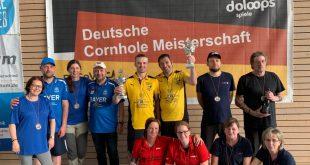 Deutsche Meister im Cornhole 2019